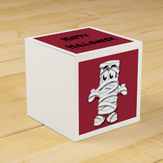 Mummy Halloween Favour Boxes