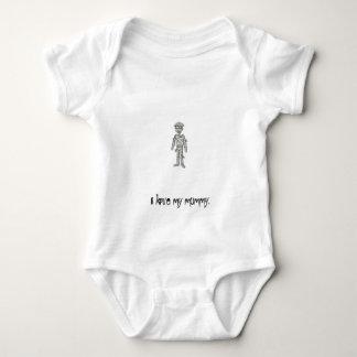 mummy, I love my mummy. Baby Bodysuit