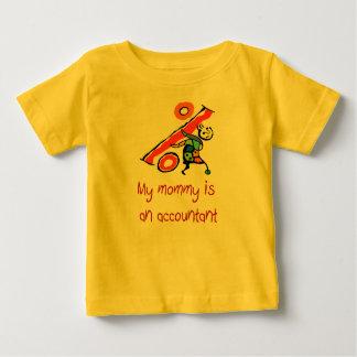 Mummy is an Accountant baby shirt
