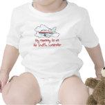 Mummy is an Air Traffic Controller baby t-shirt