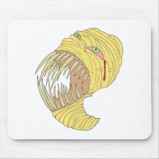 Mummy Maggot Art Mouse Pads