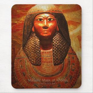 Mummy Mask of Khonsu 1279-1213 B.C Mouse Pad