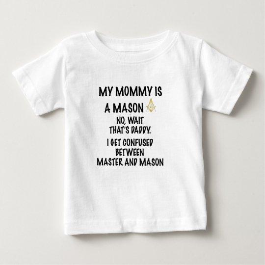 Mummy Mason Baby T-Shirt