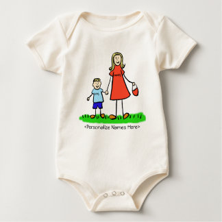 Mummy & Me Boy - Blonde Mother & Son Shirts