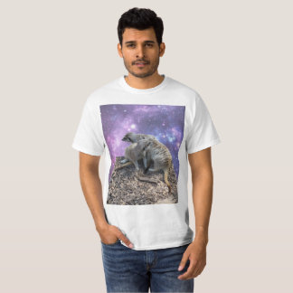 Mummy Meerkat And Her Pup, T-Shirt