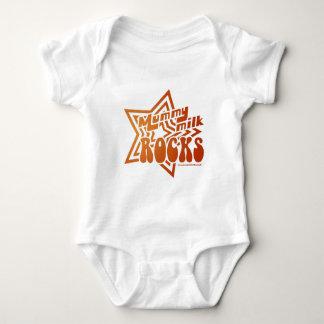 Mummy Milk Rocks Baby Bodysuit