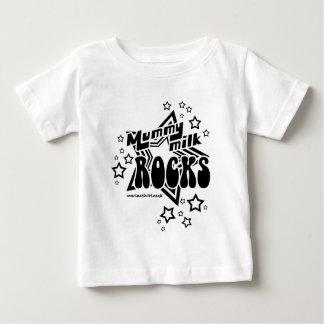 Mummy Milk Rocks Baby T-Shirt