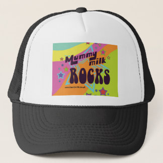 Mummy Milk Rocks Trucker Hat