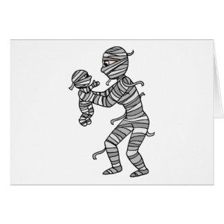 Mummy Mommy Greeting Card
