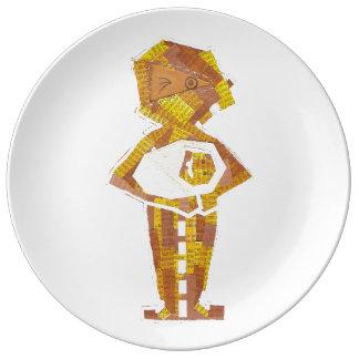 Mummy Mummy Porcelain Plate