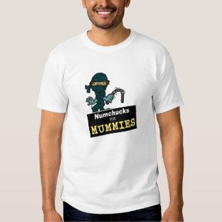 Mummy Numchucks T-shirt
