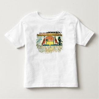 Mummy on a funeral bed with various divinities toddler T-Shirt
