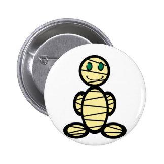 Mummy (plain) 6 cm round badge