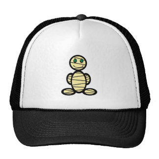 Mummy plain trucker hats