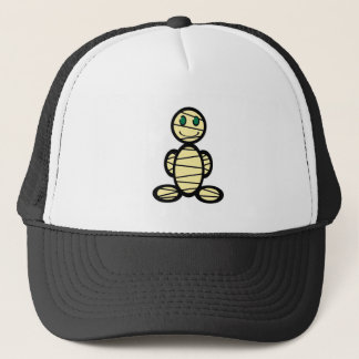 Mummy (plain) trucker hat