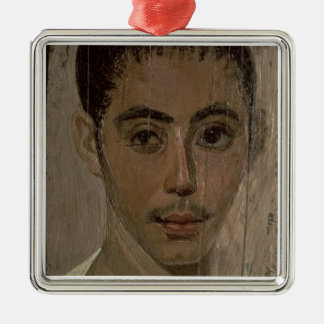 Mummy Portrait of a Boy with an Injured Eye, from Christmas Ornament
