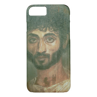 Mummy Portrait of a Man, from Fayum, Romano-Egypti iPhone 8/7 Case