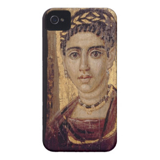 Mummy Portrait of a Woman, from Fayum, Romano-Egyp iPhone 4 Case