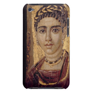 Mummy Portrait of a Woman, from Fayum, Romano-Egyp iPod Touch Case