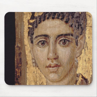 Mummy Portrait of a Woman, from Fayum, Romano-Egyp Mouse Pad