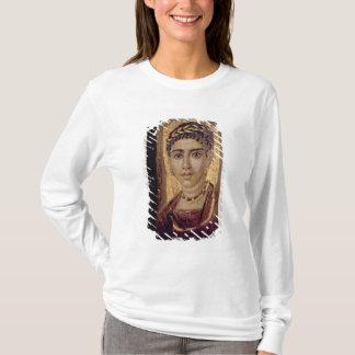 Mummy Portrait of a Woman, from Fayum, Romano-Egyp T-Shirt