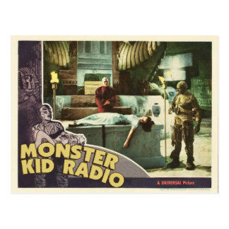 Mummy Postcard from Monster Kid Radio