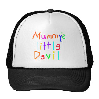 Mummy s Little Devil Mesh Hats