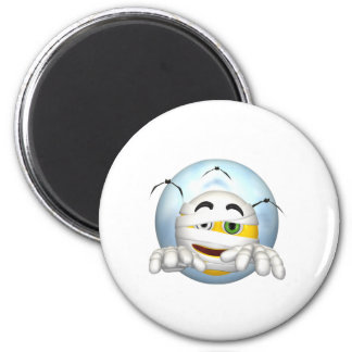 mummy smiley face magnets