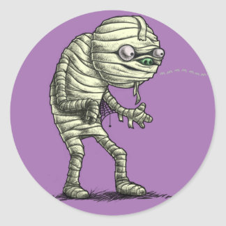 Mummy Sticker