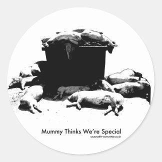 Mummy Thinks We're Special Sticker