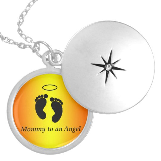 Mummy to an Angel Necklace