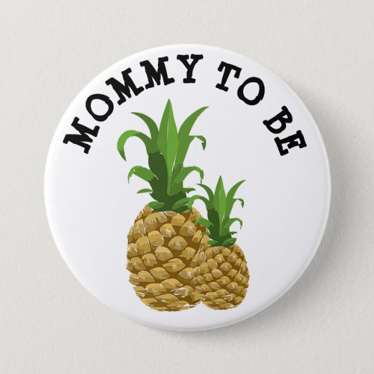 Mummy to be Funny mama & baby Pineapple