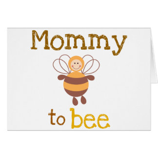 Mummy to Be Greeting Card