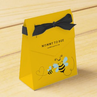 Mummy To Bee Baby Shower favour box