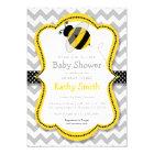Mummy to Bee Baby Shower Invitations