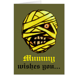 Mummy Wishes You... Greeting Card
