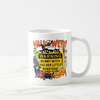 Mummy Witch Halloween Coffee Mug