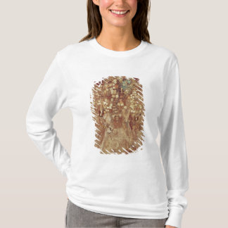 Mummy with gold crown and grave goods T-Shirt