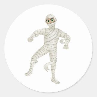 Mummy with Green Eyes Sticker