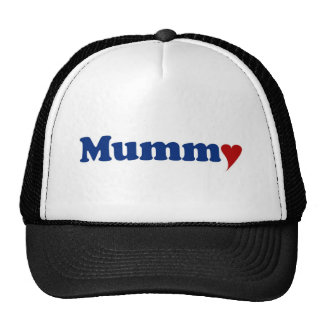 Mummy with Heart Mesh Hats