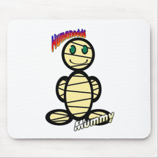 Mummy (with logos) mouse pad