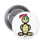 Mummy (with logos) pin