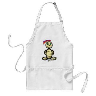 Mummy (with logos) standard apron
