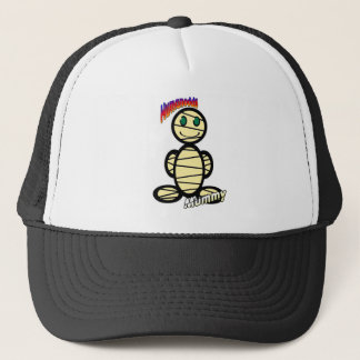 Mummy (with logos) trucker hat