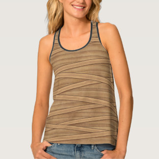 Mummy wraps tank top