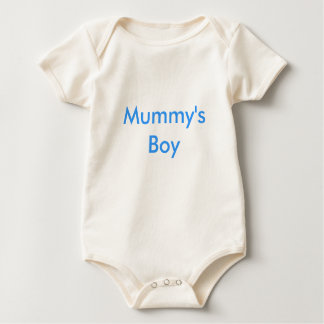 Mummy's Boy Baby Bodysuit