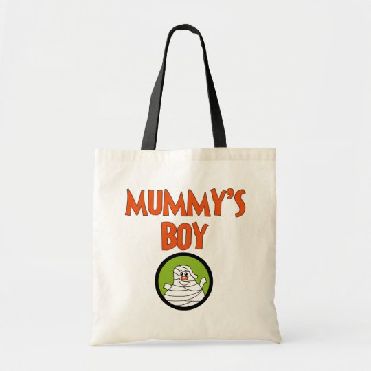 Mummy's Boy Halloween Tshirts and Gifts Tote Bag