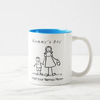 Mummy's Boy - Mother & Son Custom Gift Mug