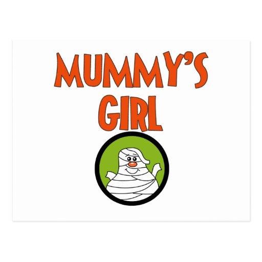 Mummy's Girl T-shirts and Gifts Postcards