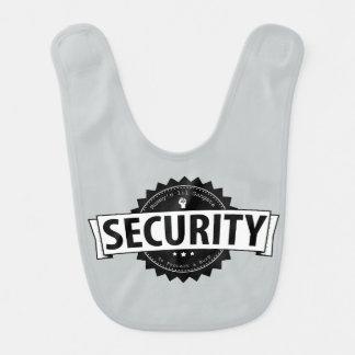 Mummy's Lil Security -grey- Bib